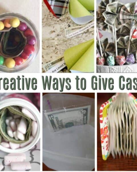 Creative ways to gift money.
