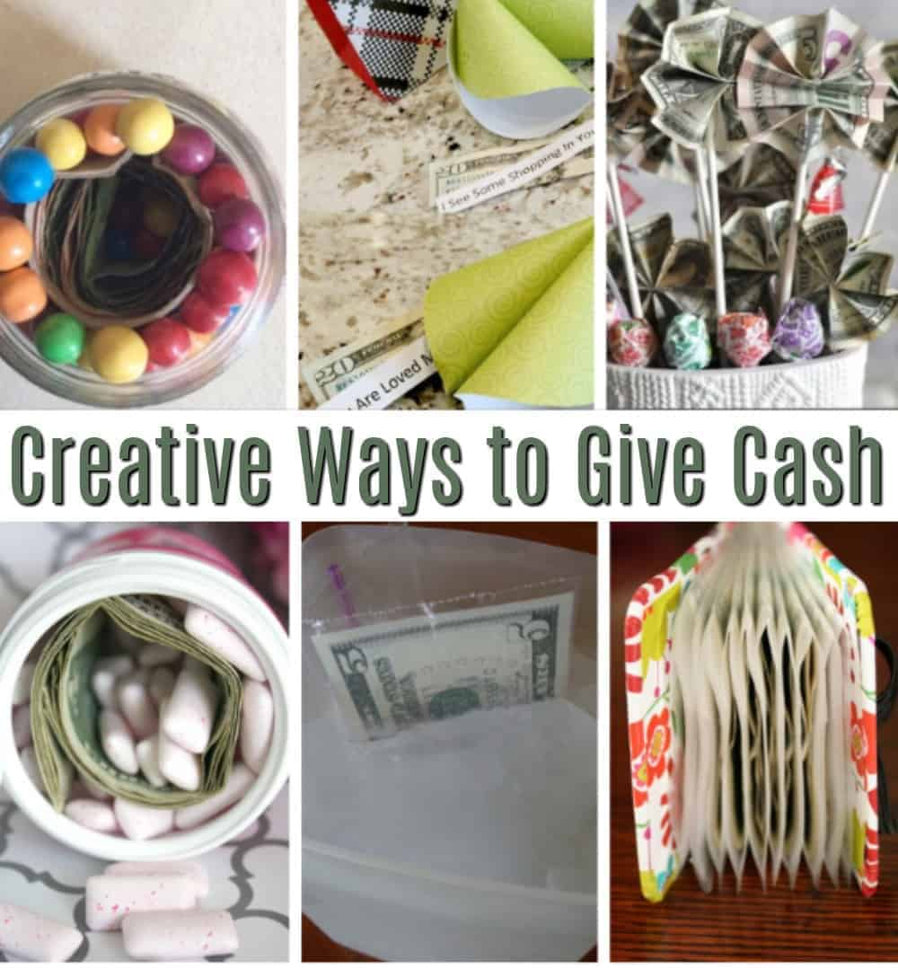 Creative Money Gift Ideas - Saving Dollars & Sense