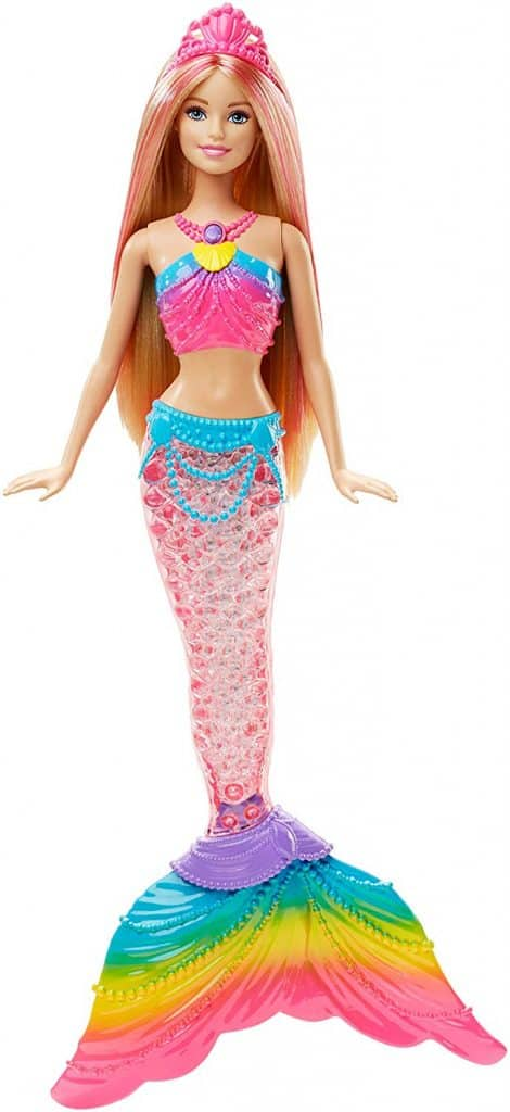 barbie mermaid rainbow doll