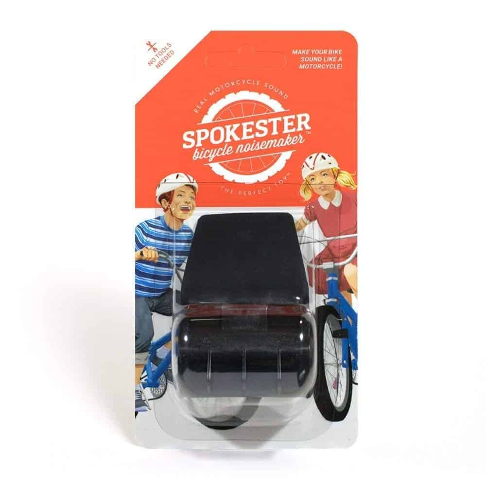 Spokester bicycle noise maker.