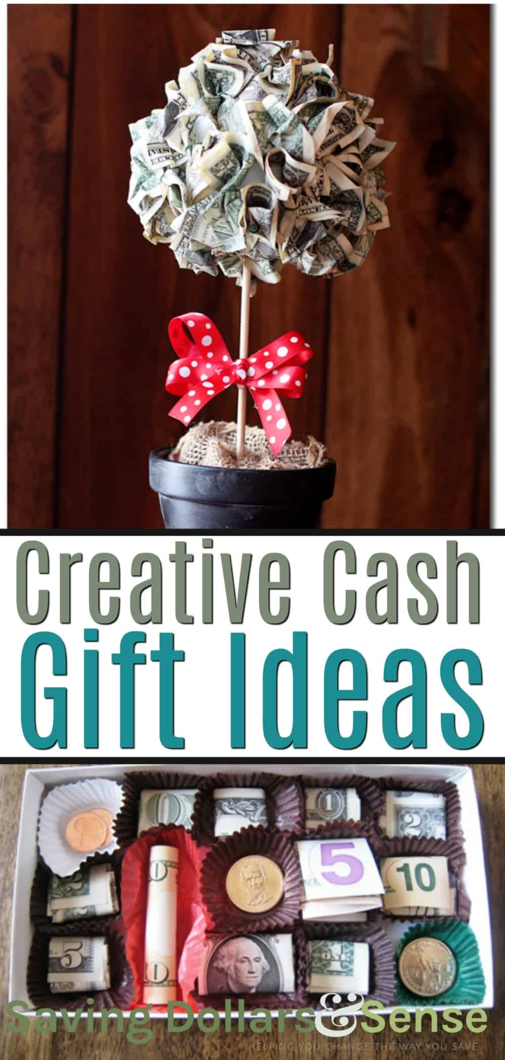 ideas to give money as a gift