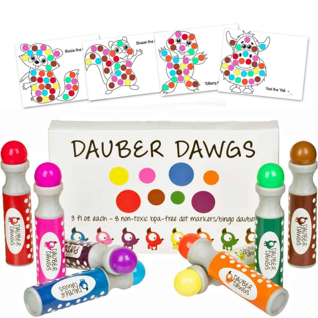dot markers