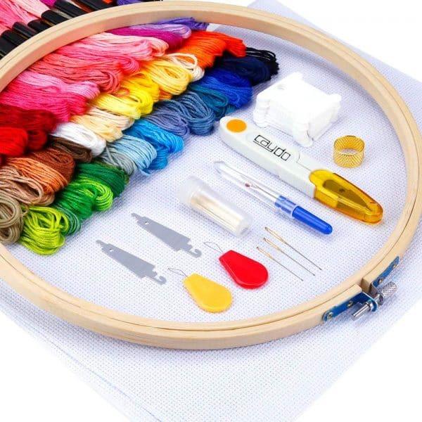 Caydo embroidery starter kit.