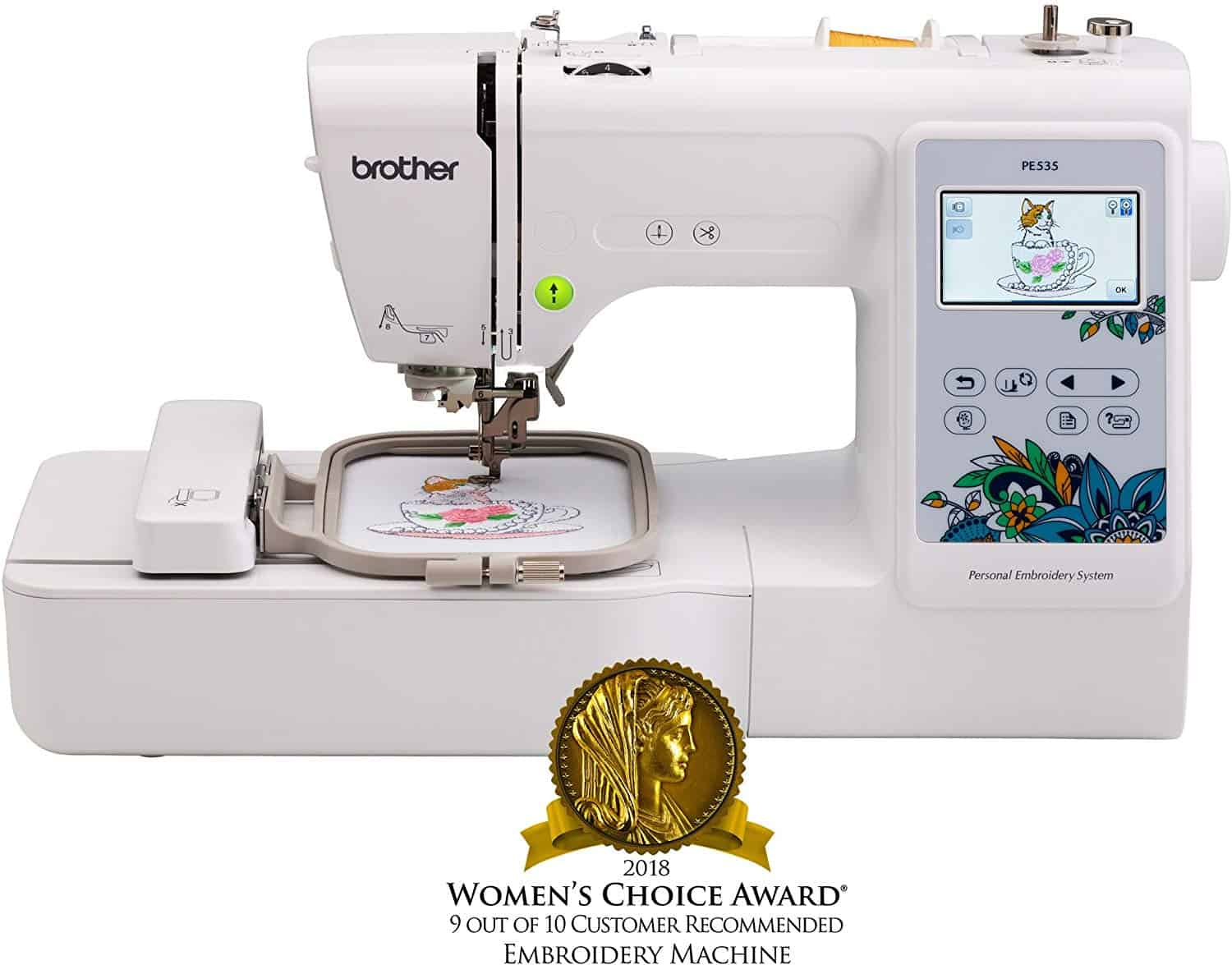 Brother embroidery machine.