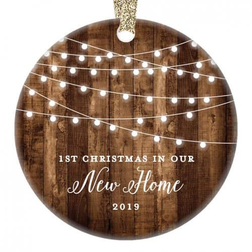 Farmhouse collectible homeowner ornament. The Best Gifts for New Homeowners