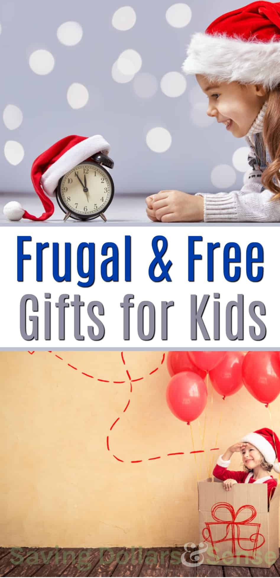 The Best Frugal or Free Christmas Gifts for Kids