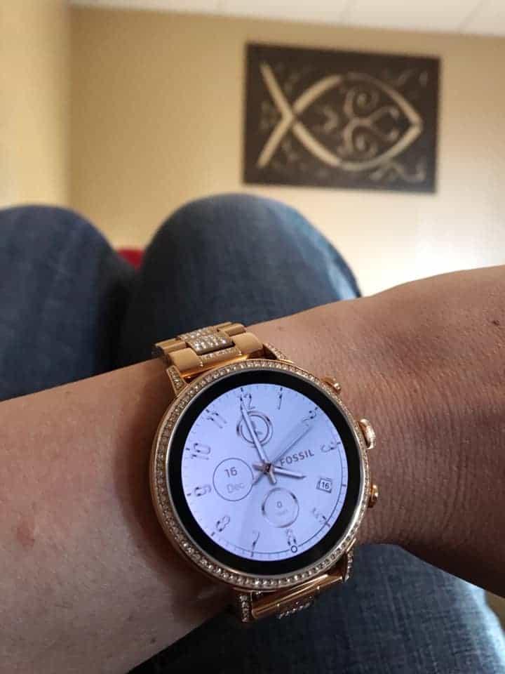 Rose Gold Gen 4 Fossil Smartwatch Review