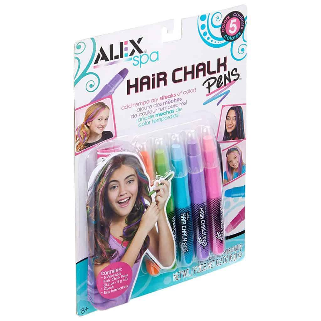 Hair chalk pens.