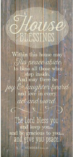 House blessings plank sign. The Best Gifts for New Homeowners