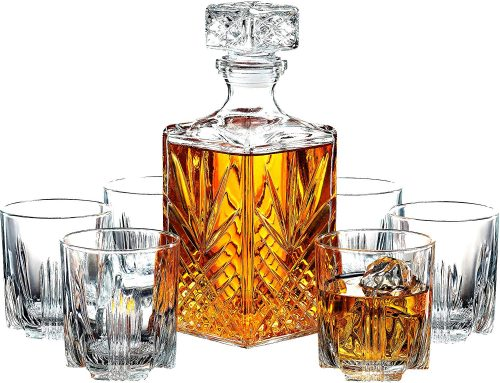 7-piece Italian decanter set. The Best Gifts for New Homeowners