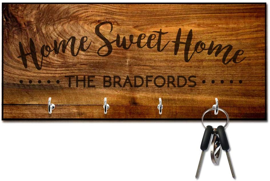 Home sweet home key holder. The Best Gifts for New Homeowners