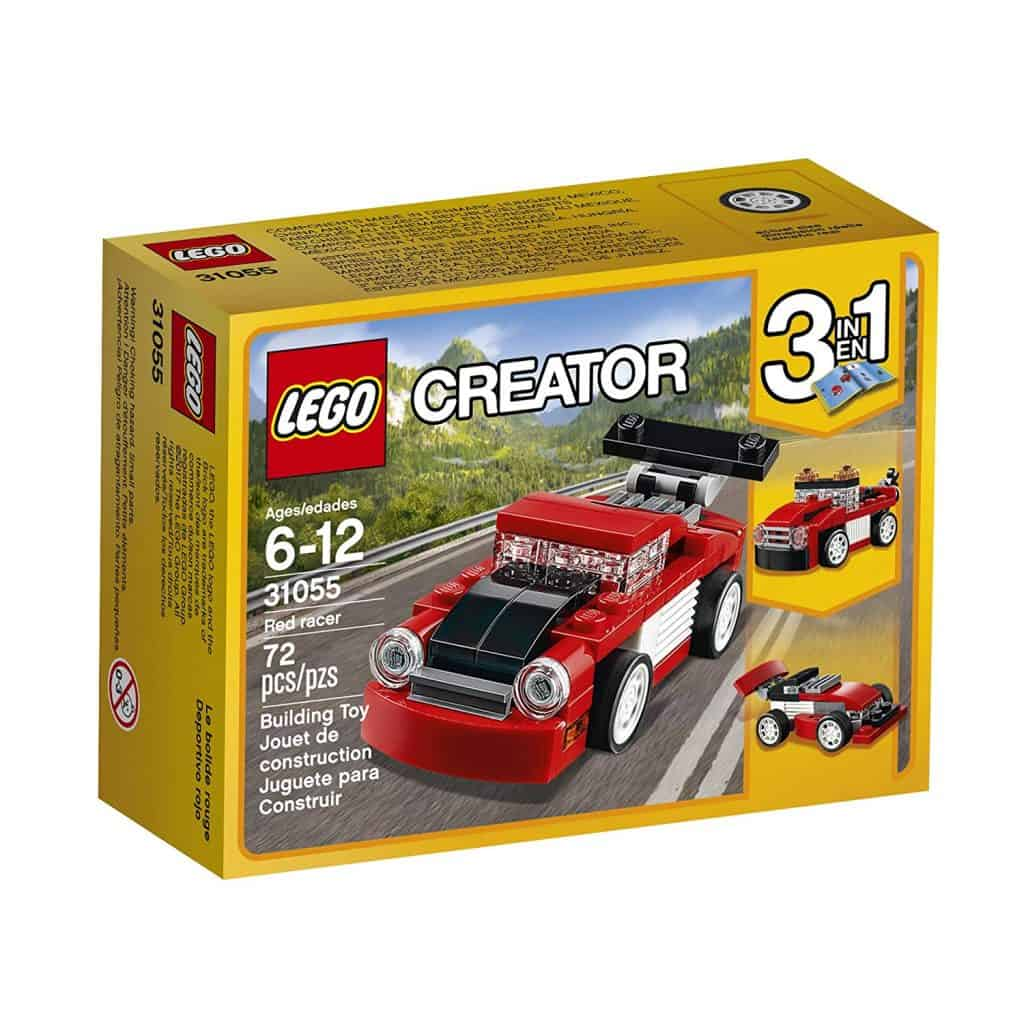 LEGO creator red racer.