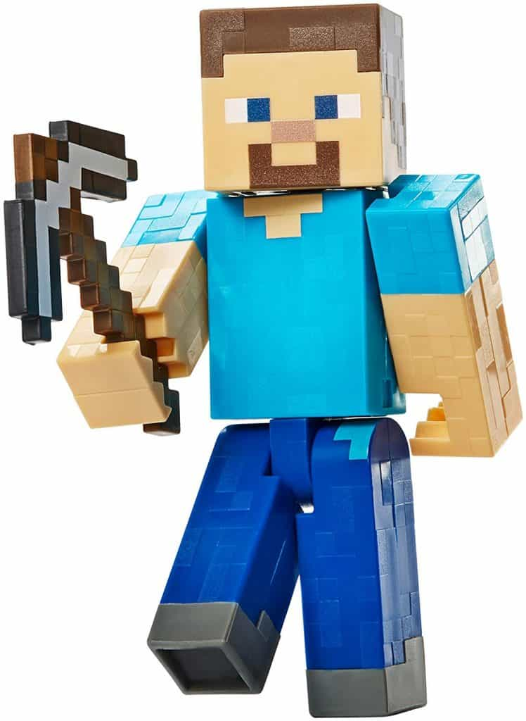 minecraft pickaxe figure