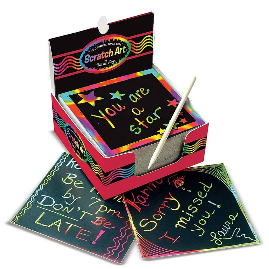 Melissa and Doug rainbow mini notes.