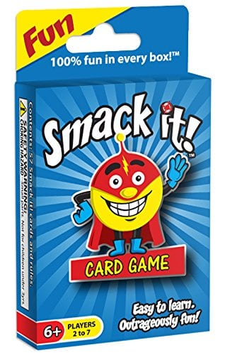 Smack it card game.