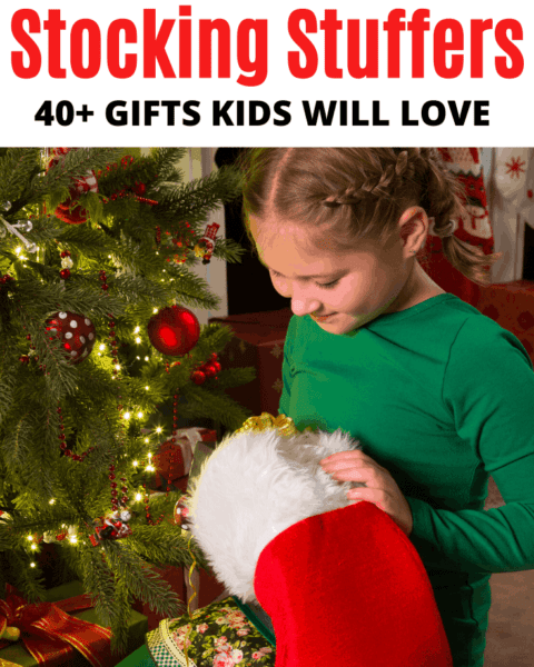 stocking stuffers gift ideas for kids that they will love.