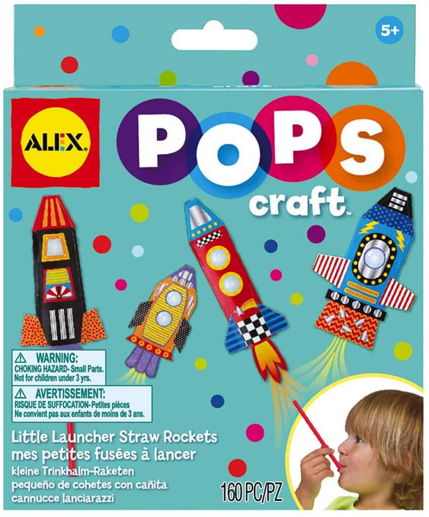 Alex toys straw rockets.