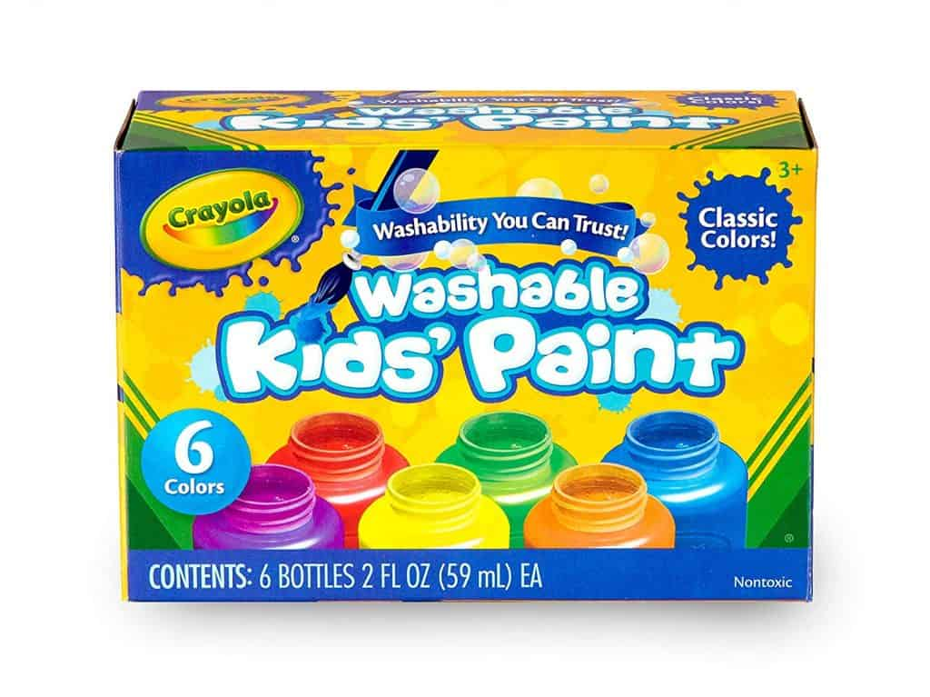 Crayola Washable kid\'s paint.