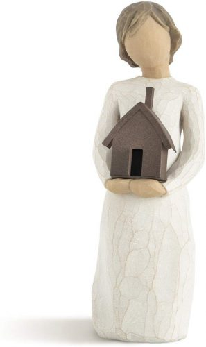 Mi casa willow tree figurine. The Best Gifts for New Homeowners
