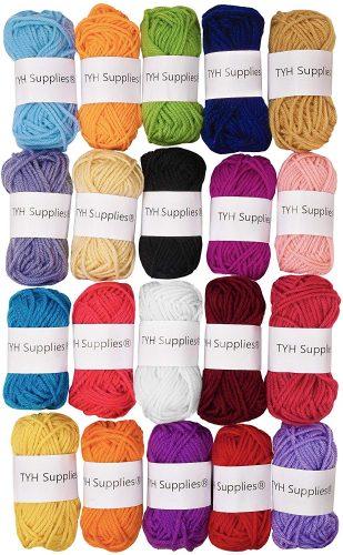 TYH supplies yarn, 20 pack.