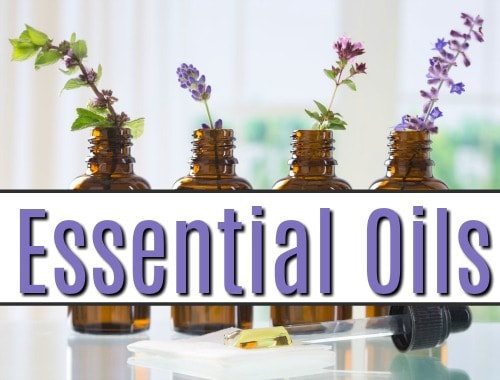 Healthy living tips using essential oils.