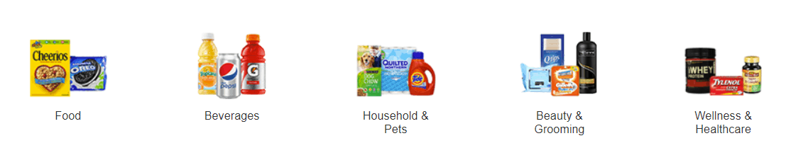 Pantry items customers can order through Amazon prime pantry.