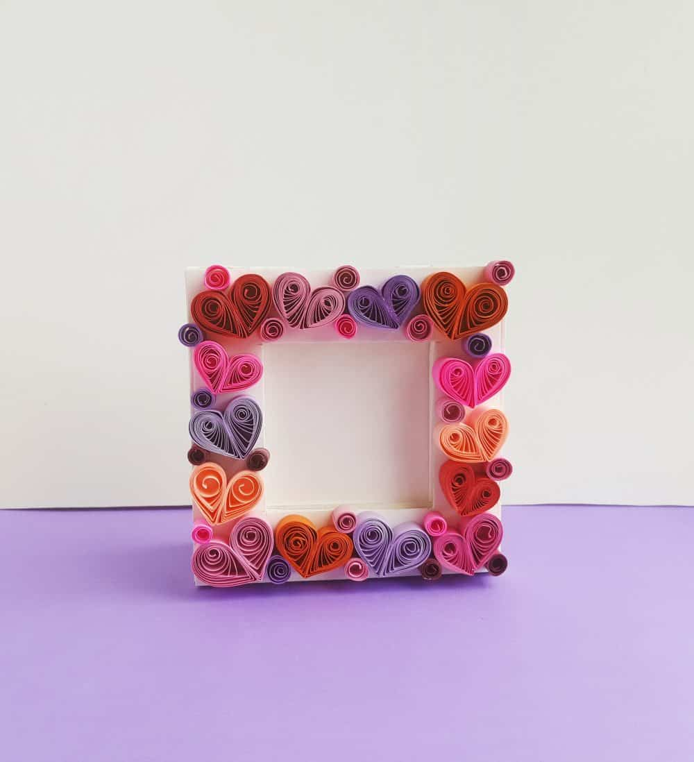paper quilling project