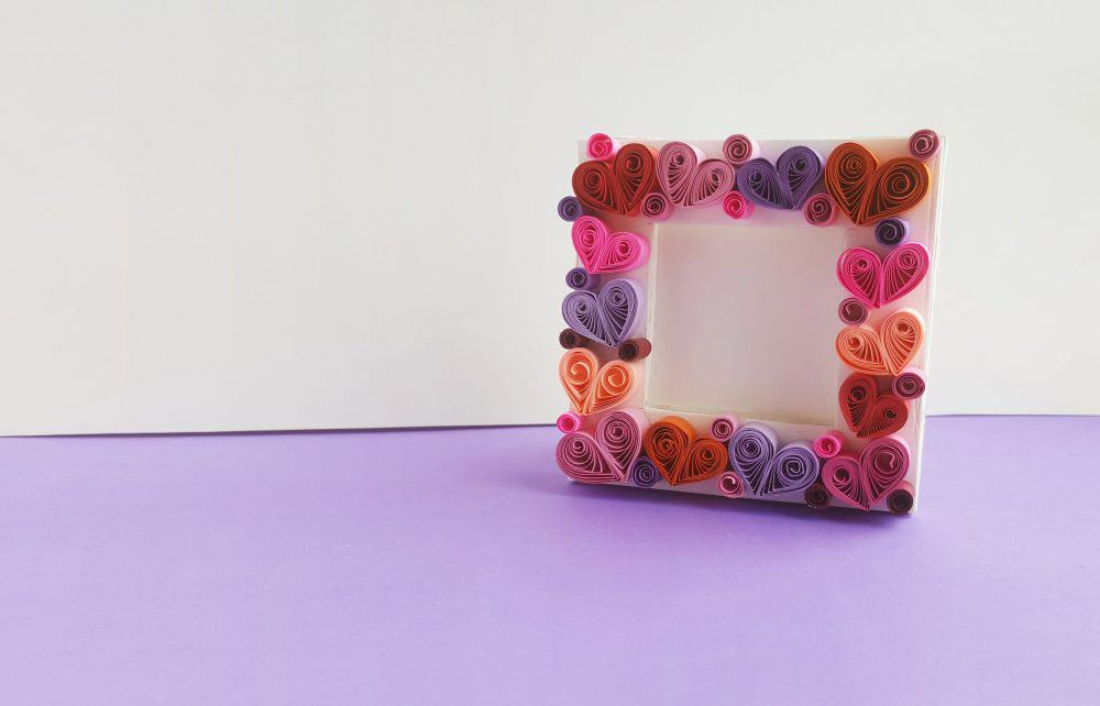 Paper Quilling Art Photo Frame