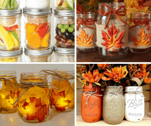 mason jar fall crafts