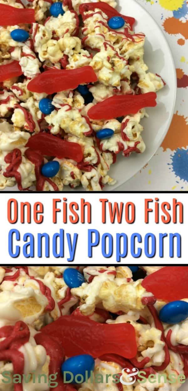 one fish two fish Candy Popcorn Recipe