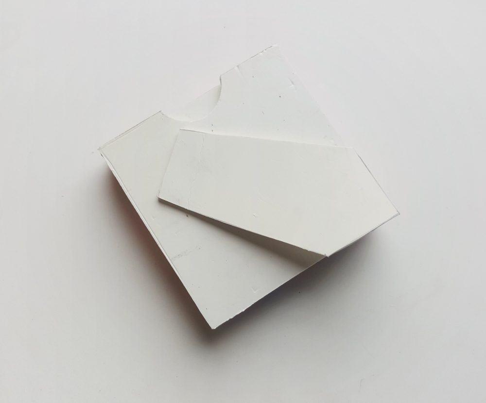 paper quil frame back end.