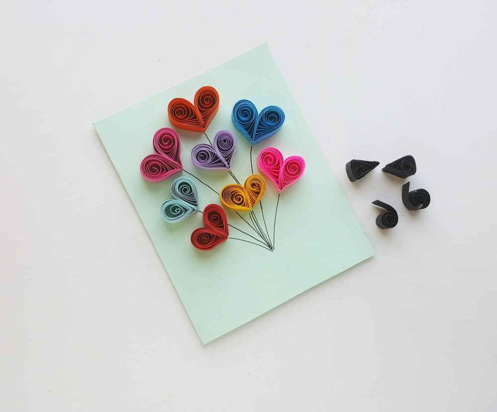 paper quilling pattern