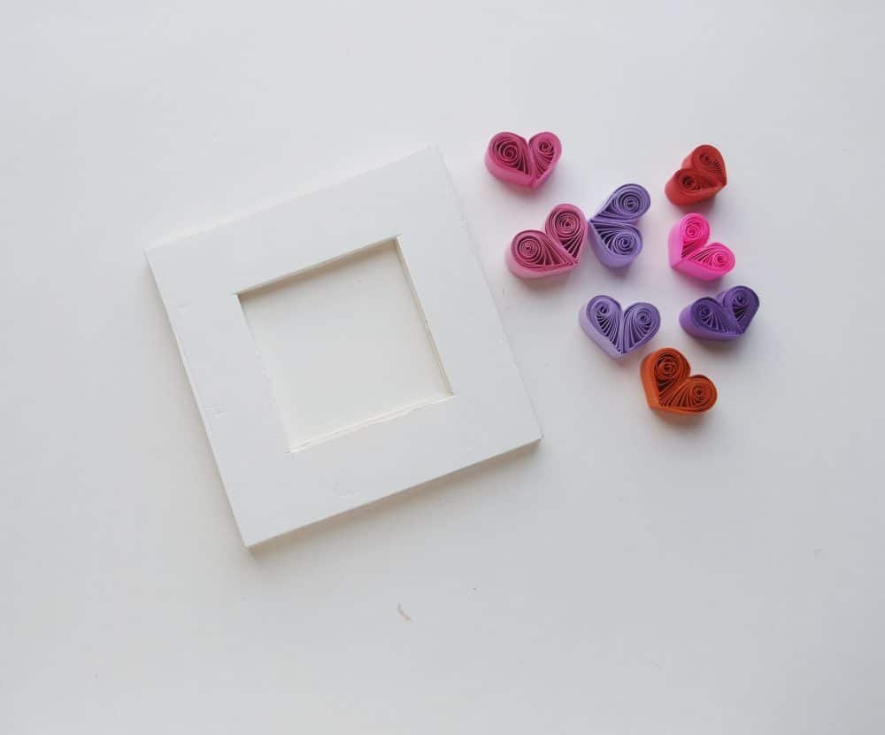 paper quilling heart template
