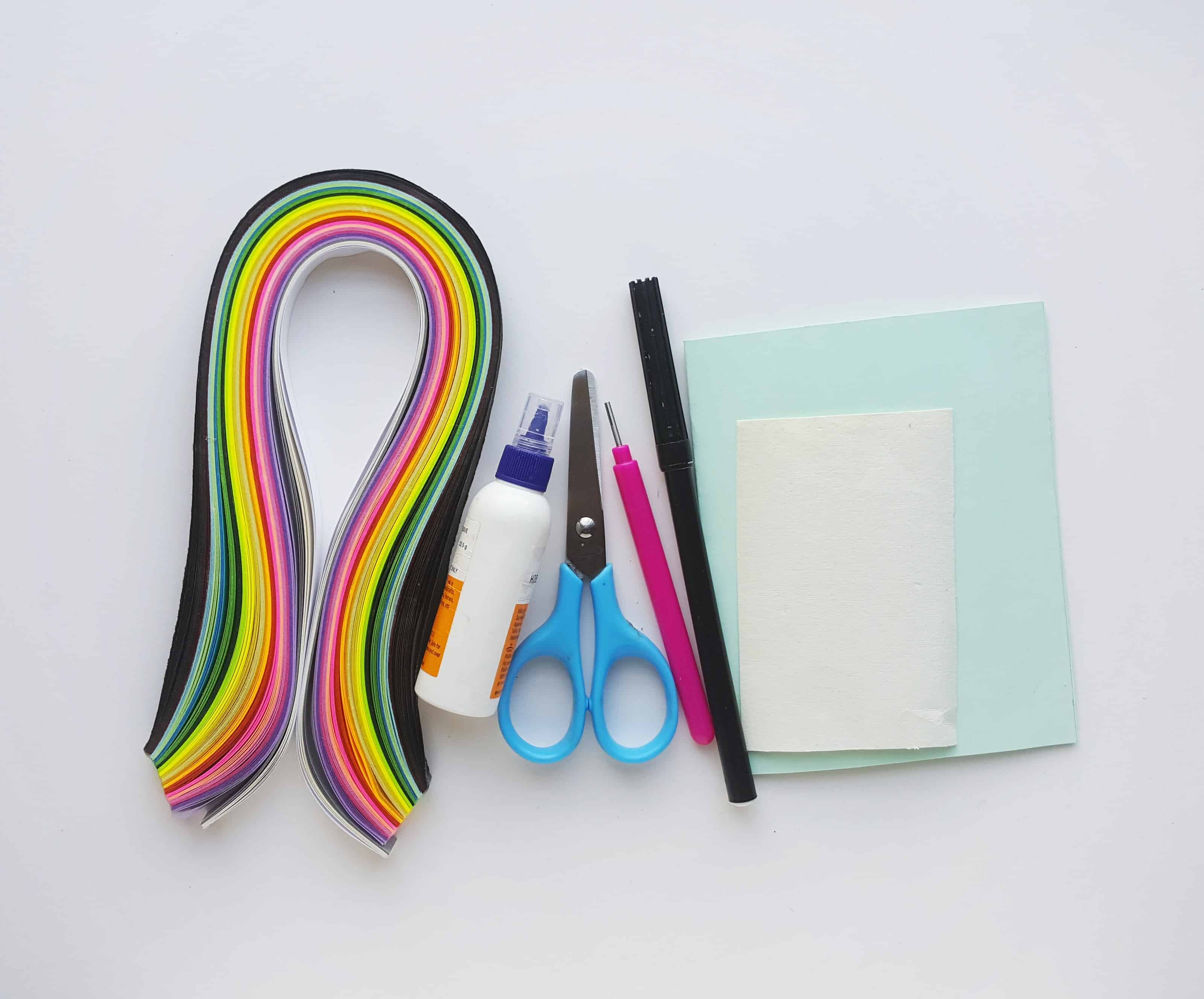 paper quilling strips supplies