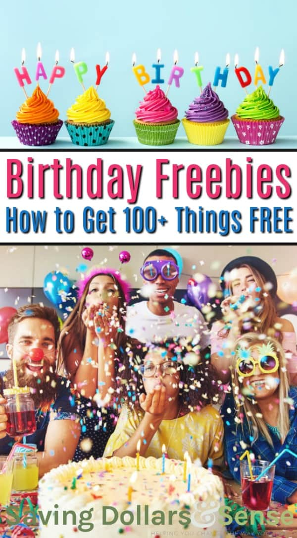 Birthday Freebies Available for You