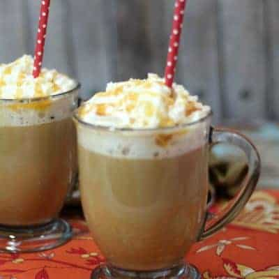 Homemade Caramel Vanilla Latte Recipe