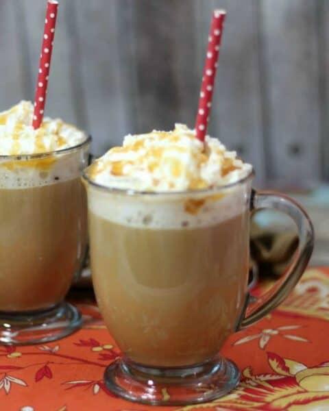 Homemade Caramel Vanilla Latte Recipe