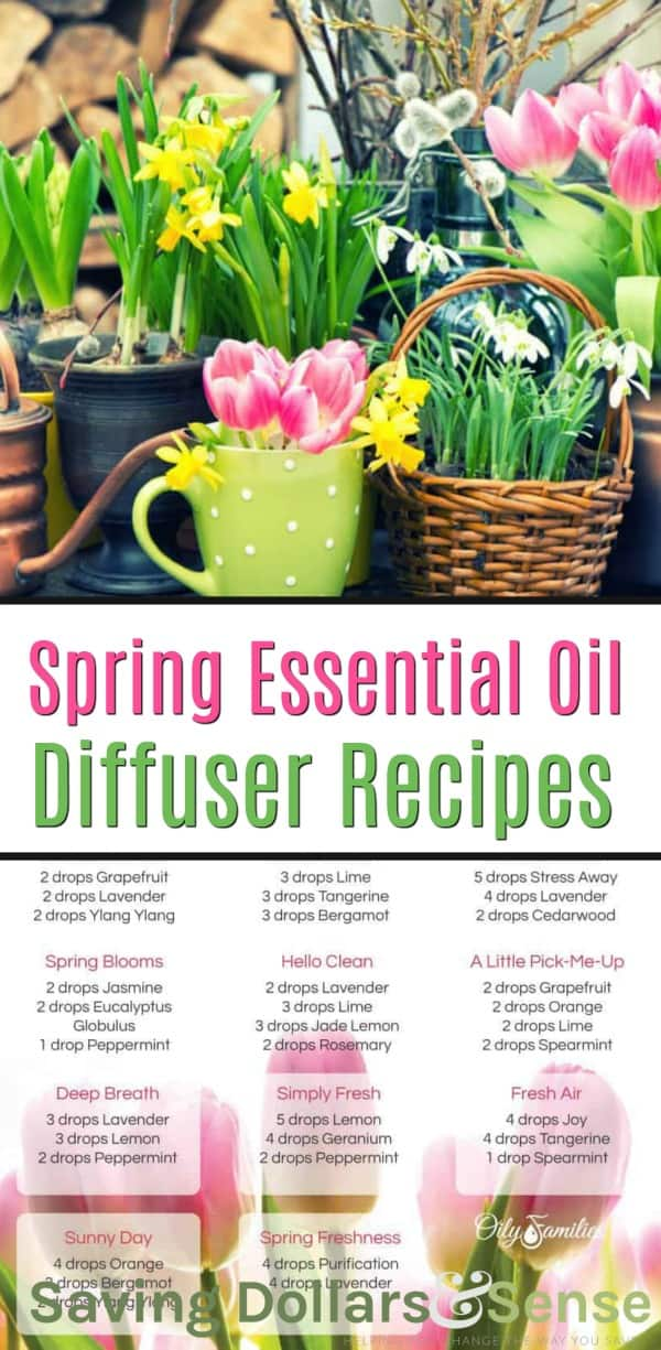 Essential Oil Diffuser Recipes for Spring