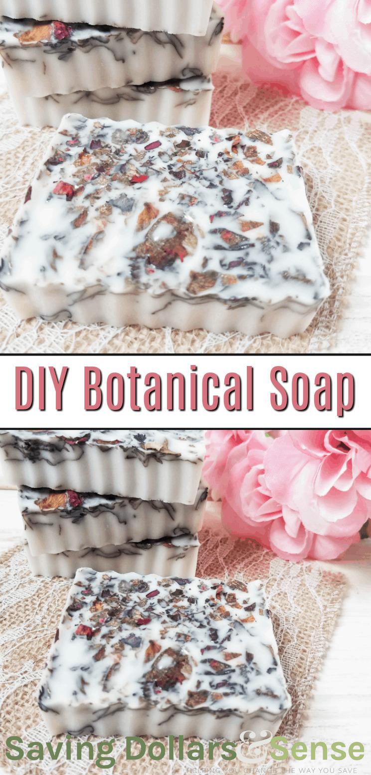 DIY Botanical Goat Milk Soap