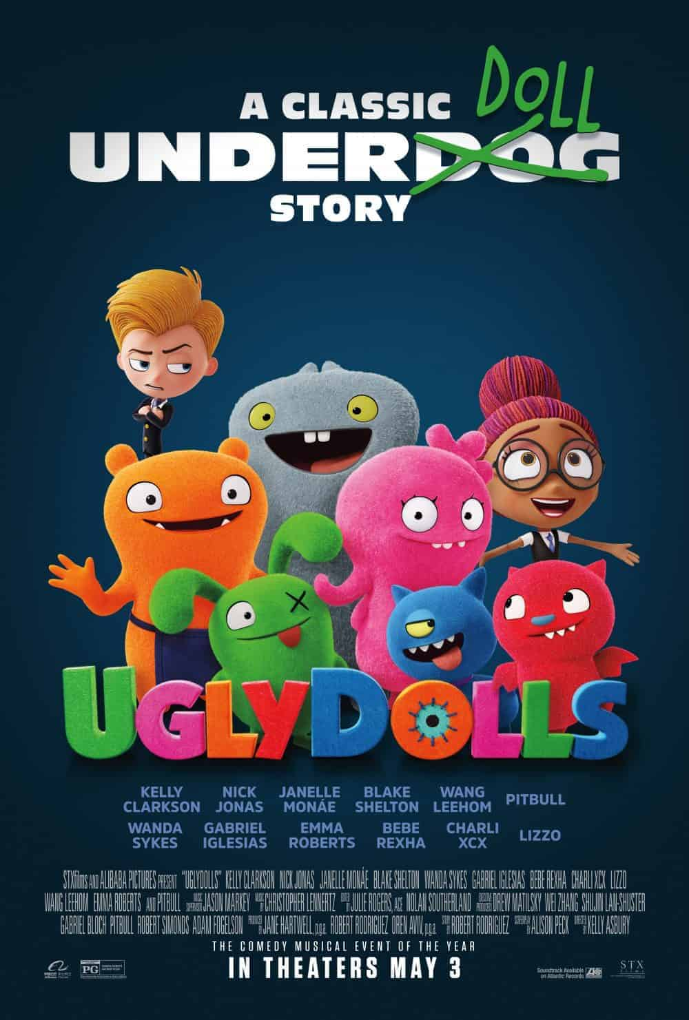 Free Ugly Dolls Movie Tickets