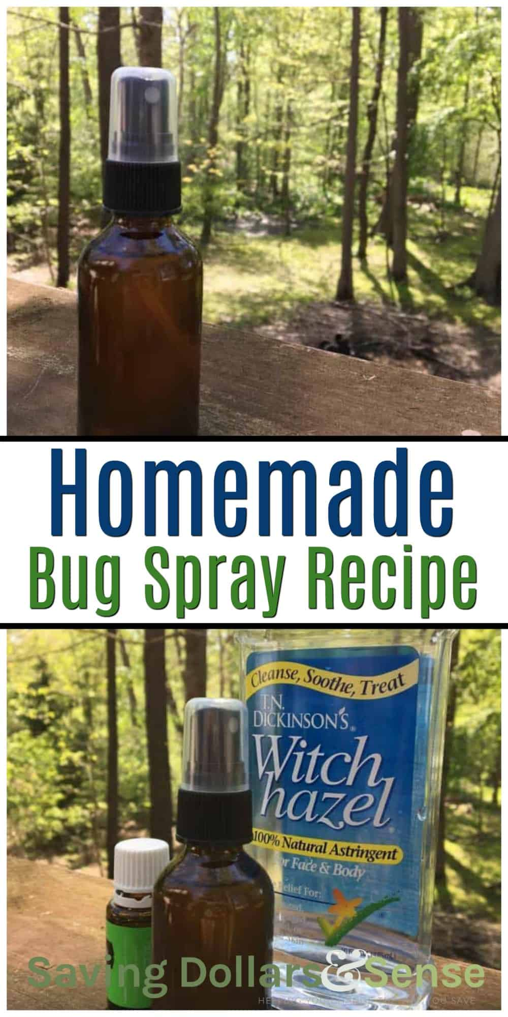 Citronella Bug Spray Recipe - Saving Dollars & Sense