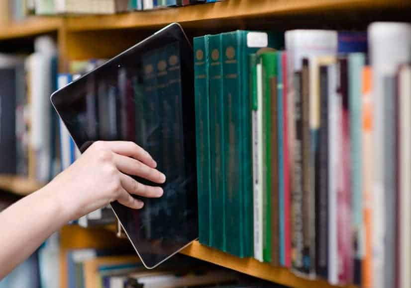 Digital files and free ebooks through your library.