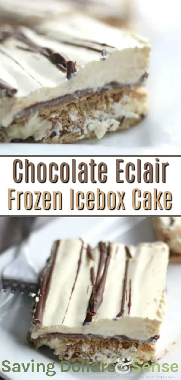 chocolate eclair icebox cake recipe