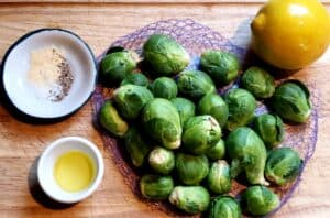 brussel sprouts for baking