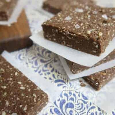 chocolate sea salt bars