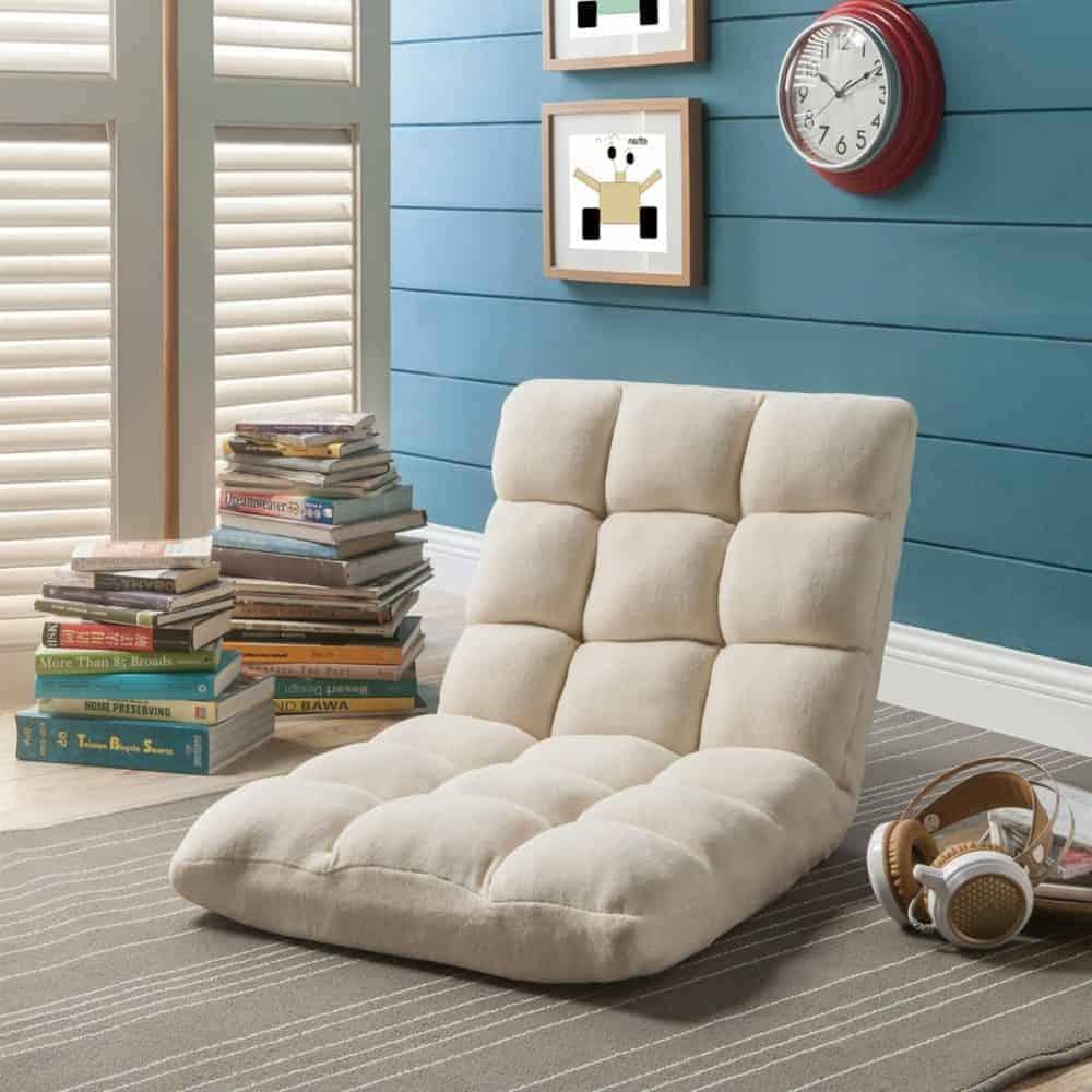 reclining floor chair