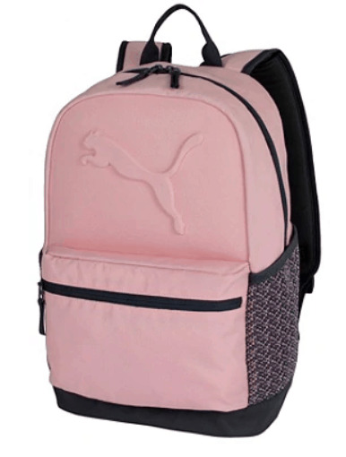 pink puma backpack