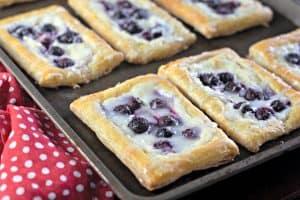 fresh blueberry danish cream cheese