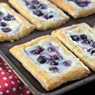 fresh blueberry danish cream cheese