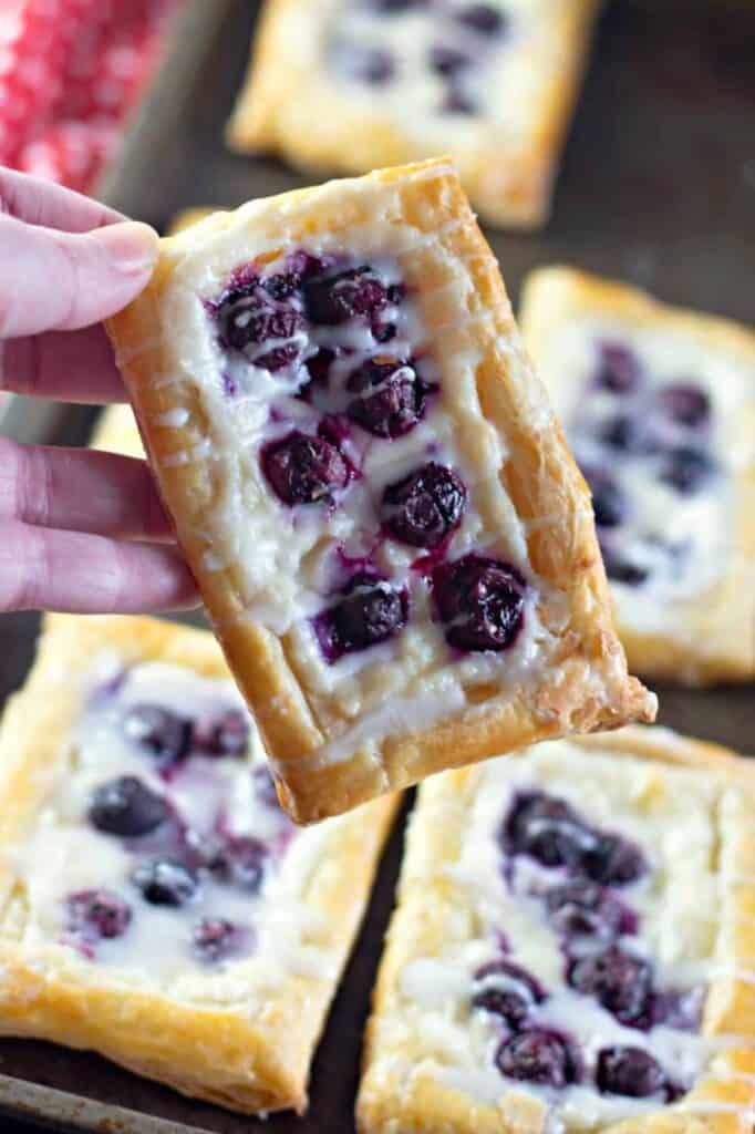 Lemon Blueberry Cream Cheese Danish